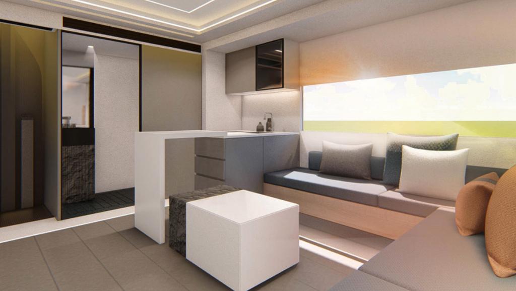 Maxus V90 Life Home Villa Edition - нижний уровень