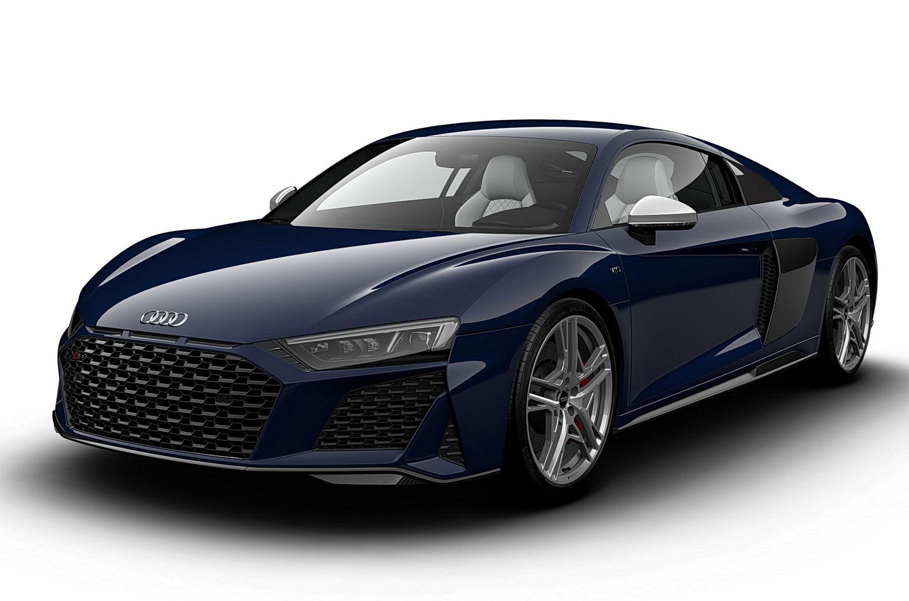 Юбилейная версия Audi R8 дебютировала в США