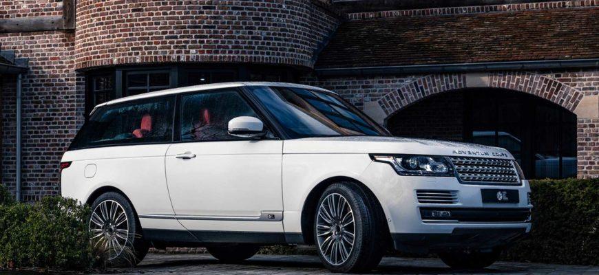 Британское ателье выпустит трехдверный Range Rover