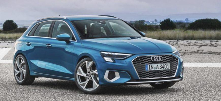 Обновленный Audi A3 готов появиться в России