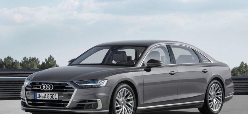 Известны характеристики новой бронированной Audi A8