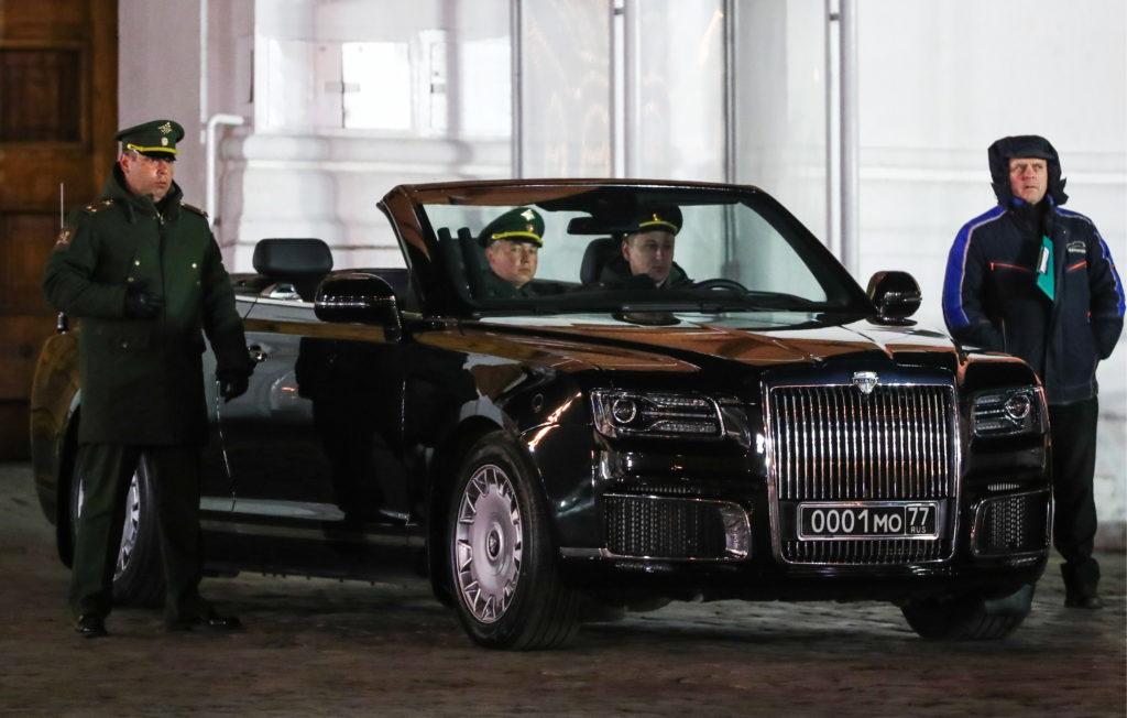 Автомобили Aurus Senat будут продаваться в Арабских Эмиратах