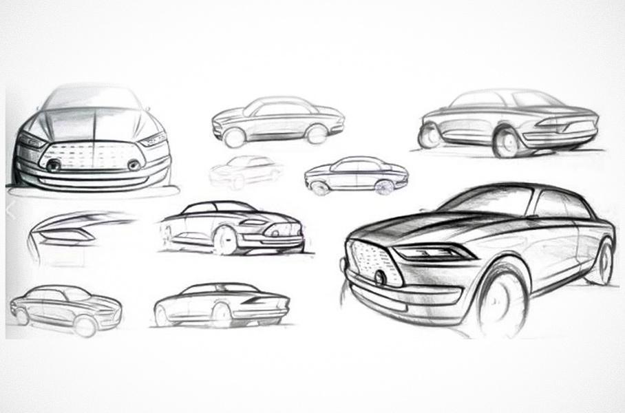 Новый концептуальный автомобиль получил необычное наименование «Futurist», несмотря на внешность в ретро-стиле.