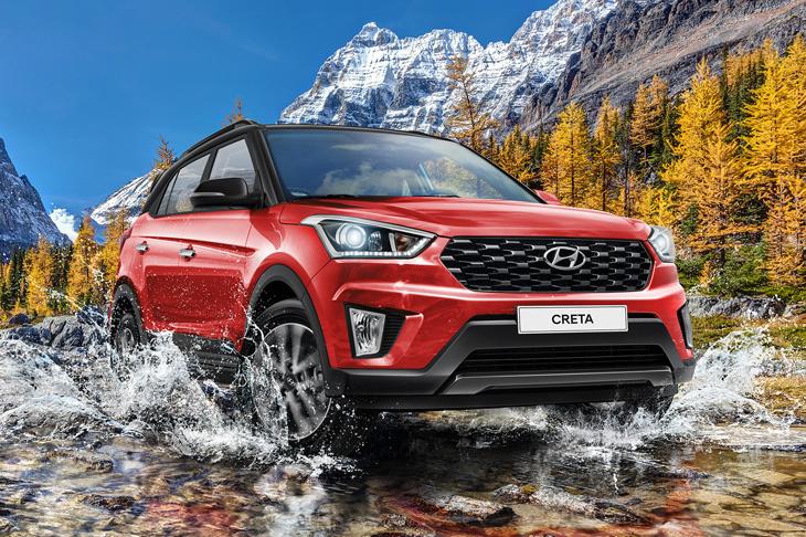 Лимитированная модификация будет выпущена под наименованием Hyundai Creta Би2