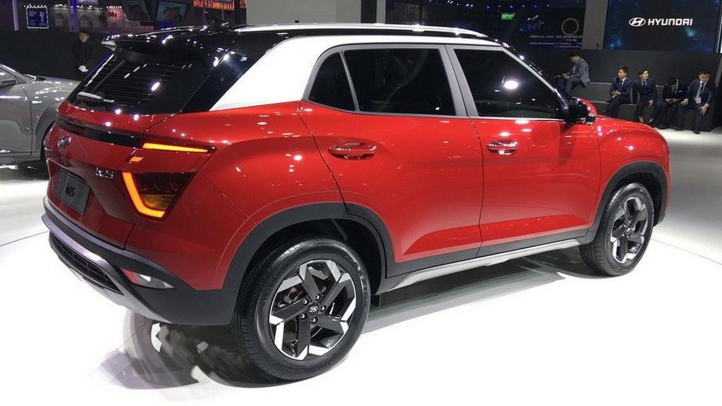 Покупатели обновленной модели Hyundai Creta могут выбрать окрас кузова, который тут выполняется в двух цветах