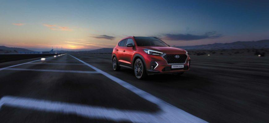 Известна стоимость спортивной версии Hyundai Tucson в России