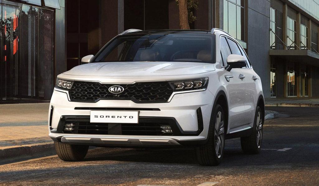 Южнокорейская автомобильная компании Kia представила обновленный кроссовер Sorento
