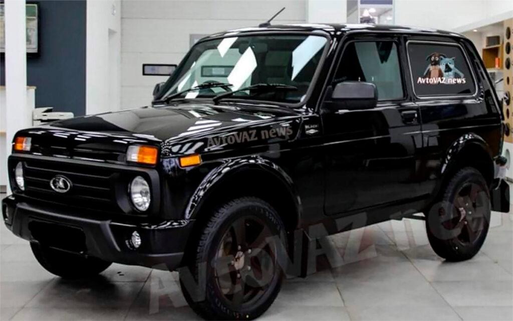 Lada 4x4 Black