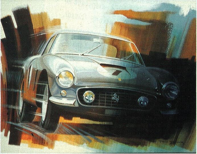 Реалистичные картины машин художника Поля Брака