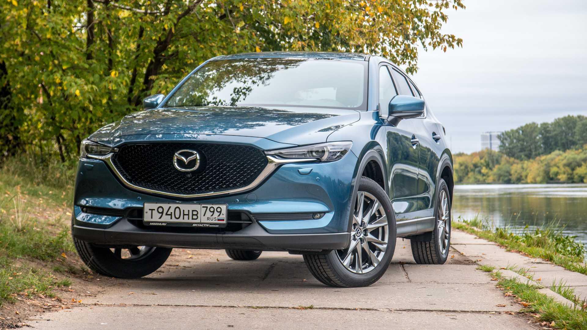 Новое поколение Mazda CX-5 получит новую платформу и имя