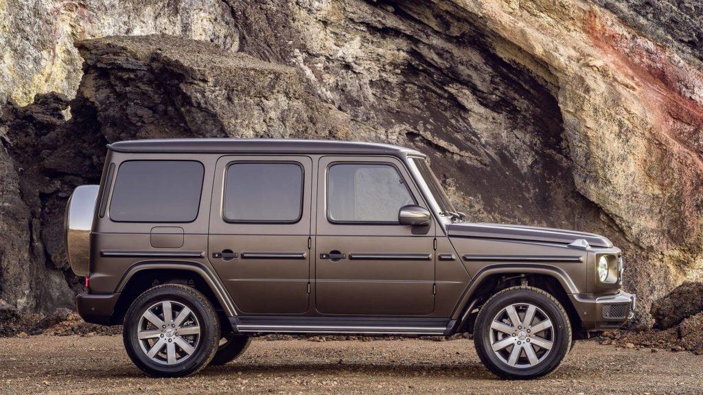 По мнению представителя Mercedes, Гелендваген является моделью, которая на данный момент нарушает логику всей автомобильной индустрии
