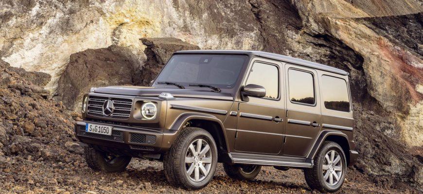 Mercedes Gelandewagen превратится в электрокар