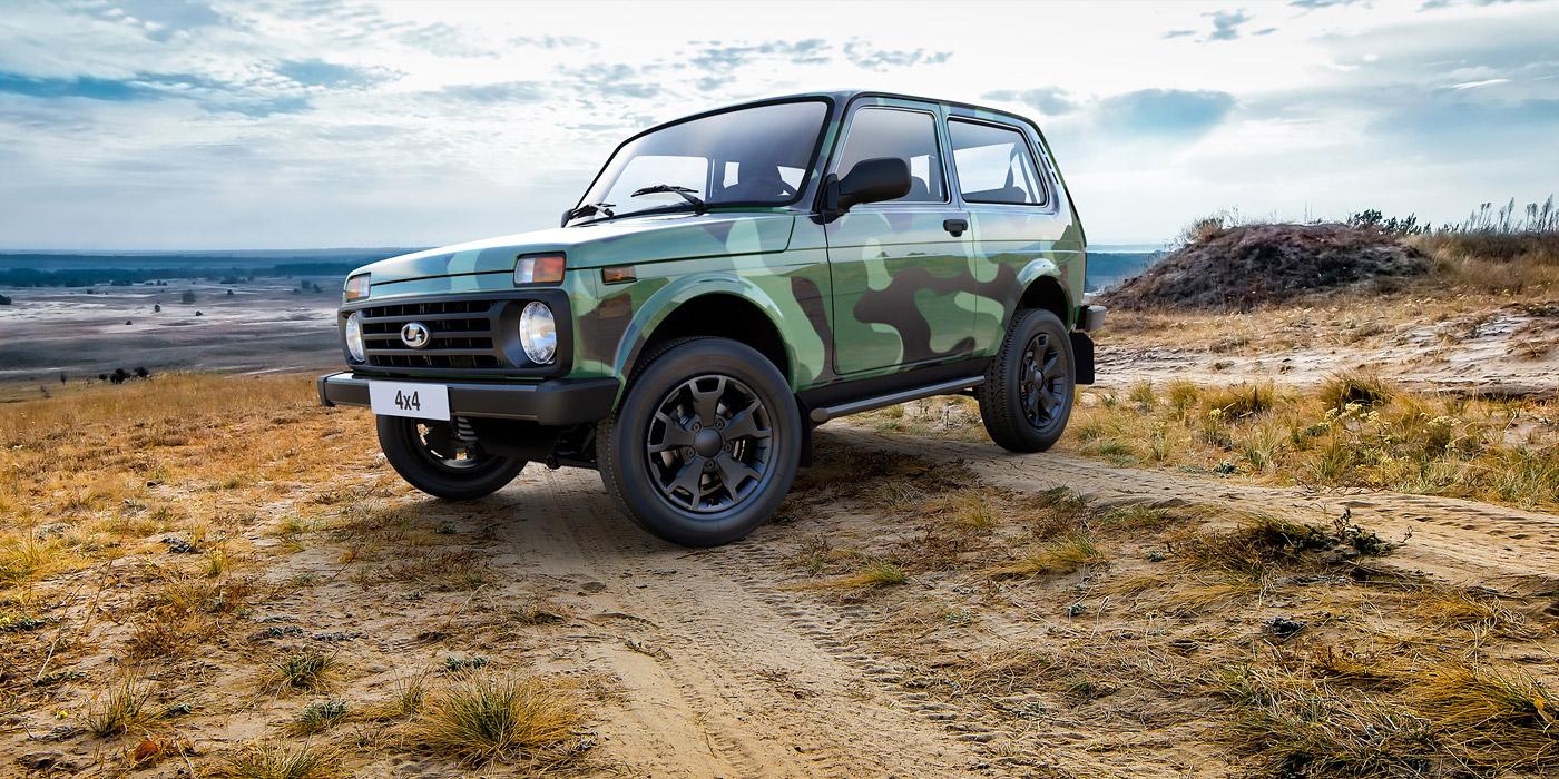 Производство Lada 4x4 могут начать в Германии