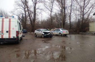 14 человек пострадали при столкновении автобуса и двух иномарок в Туле