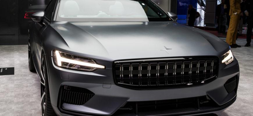 Запущено серийное производство первого электроавтомобиля от Polestar