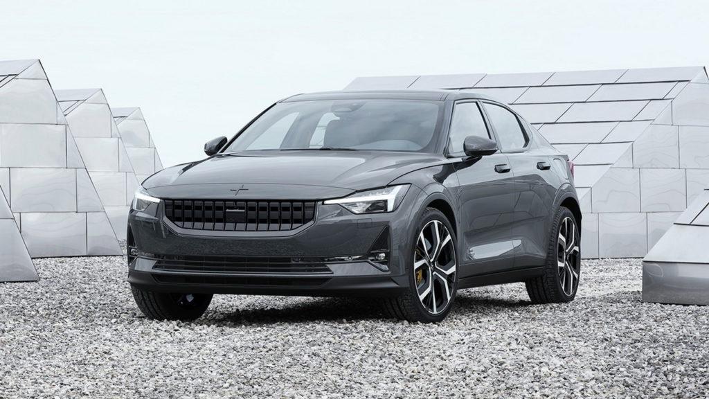 Автомобиль Polestar 2 станет первой полностью электрической моделью в истории компании