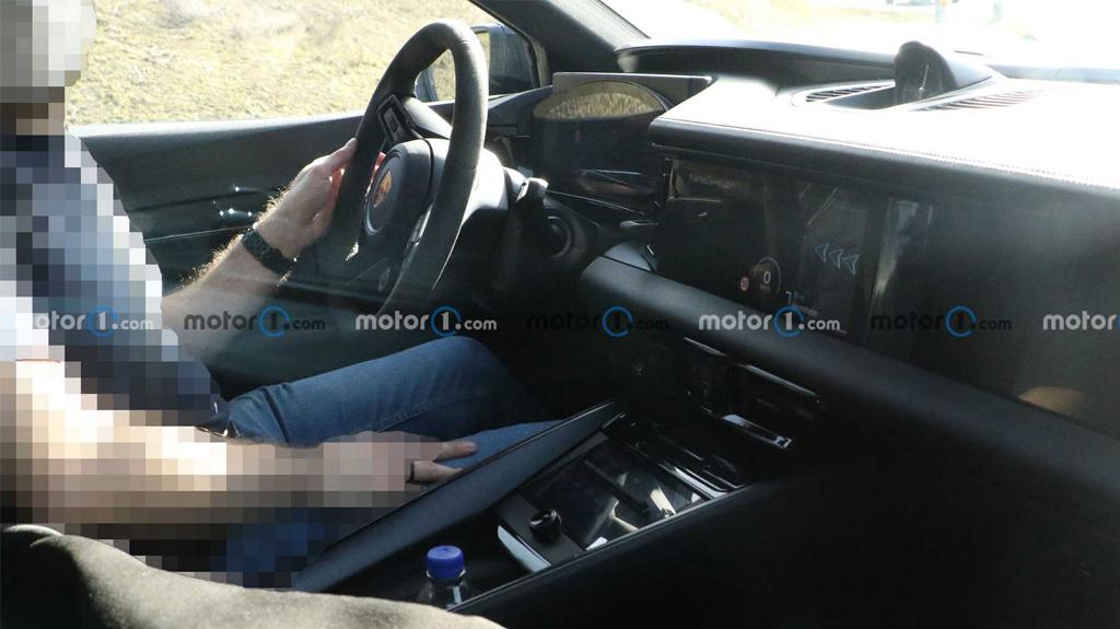 Салон Porsche Macan EV