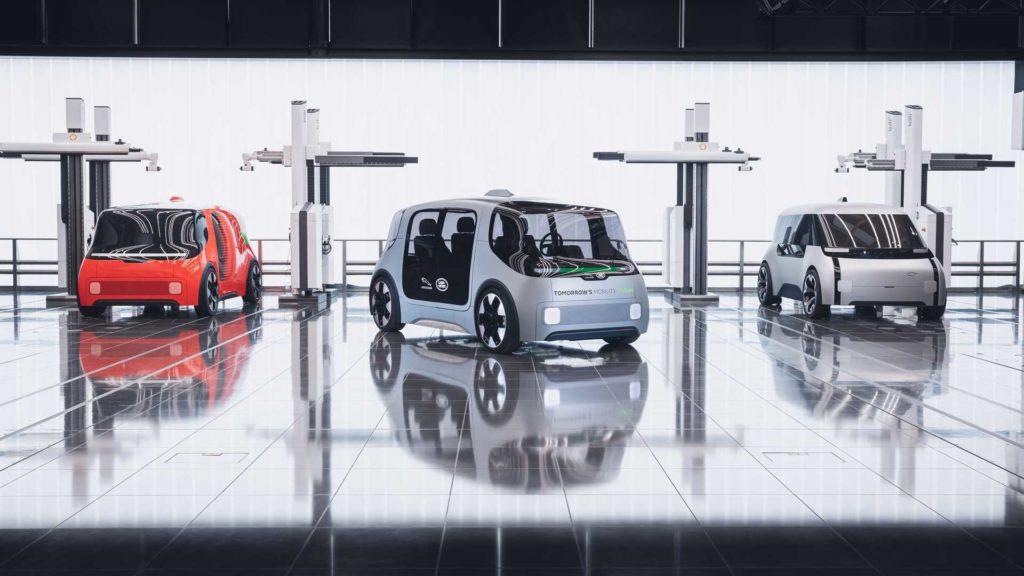 В будущем общественные и частные автотранспортные средства будут совместно использовать пространство