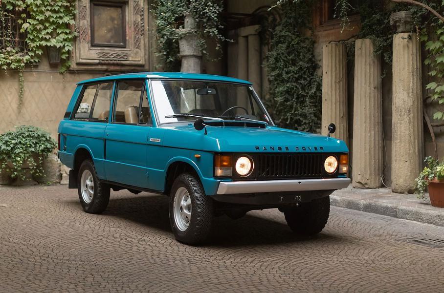 Range Rover 1970 года выпуска