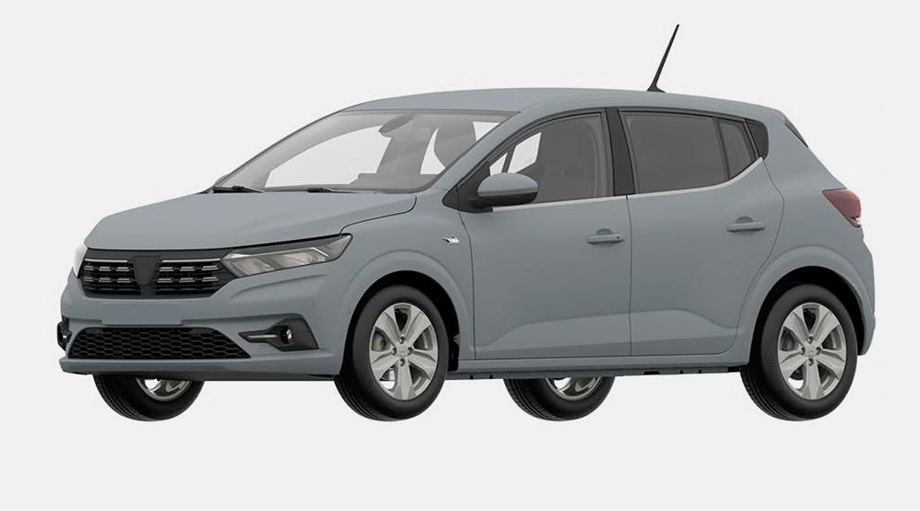Renault запатентовал Sandero нового поколения в России