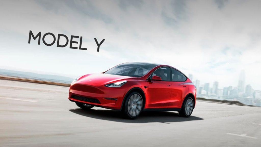 Миллионным автомобилем, сошедшим с конвейера завода Tesla, стала именно модель Model Y, в кузове красного цвета