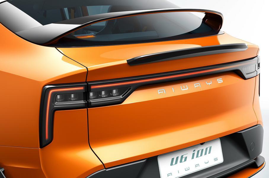 В разработке кузова U6 дизайнеры и инженеры делали ставку на максимально возможную аэродинамическую обтекаемость для такого типа кузова