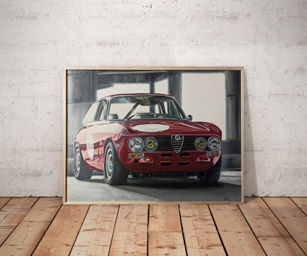 Автомобильная классика в шикарных картинах