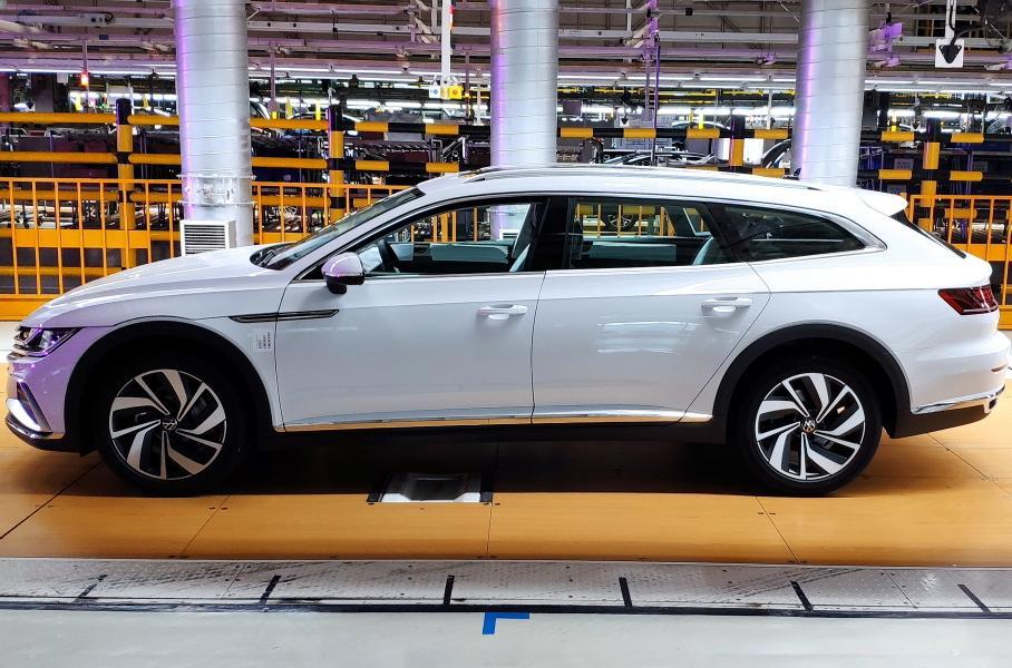 VW CC Shooting Brake