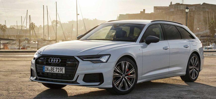 Audi A6 в кузове универсал получила гибридную версию