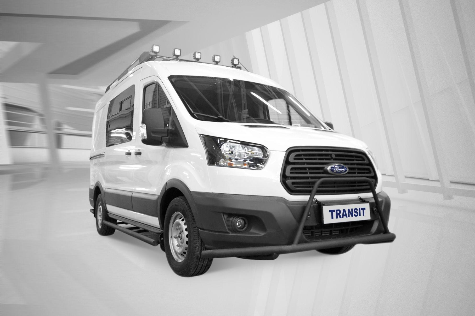 Ford адаптировал Transit для российских охотников и рыболовов