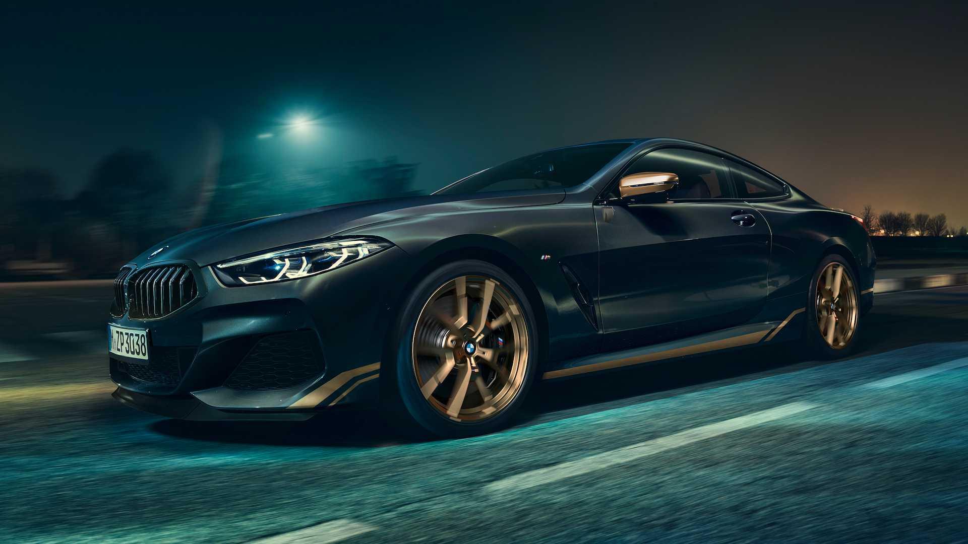 BMW 8 обзавелась «золотой» версией