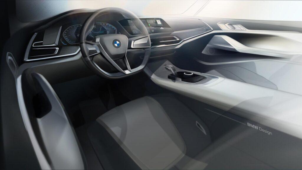 Салон BMW X7 iPerfomance