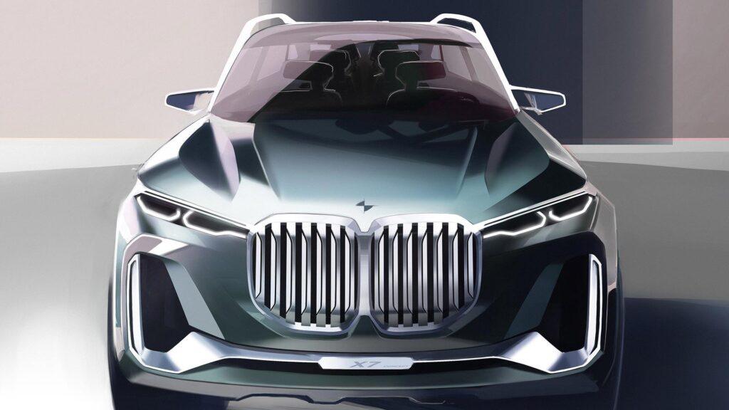 Концепт BMW X7 iPerfomance