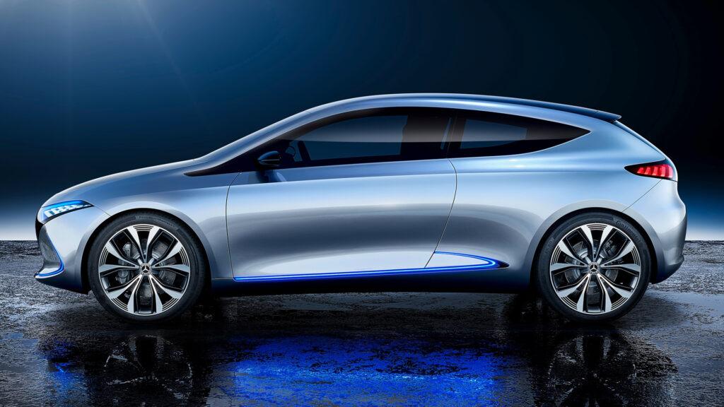 Прототип Mercedes-Benz EQA