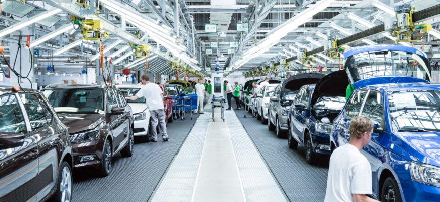 В Европе возобновляется автомобильное производство