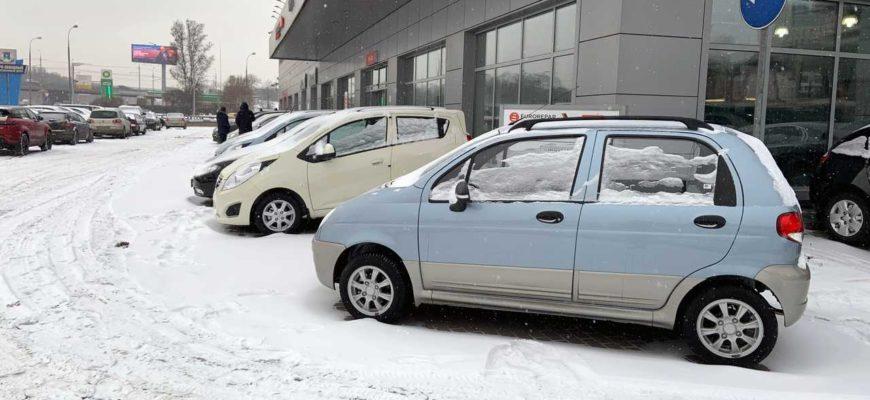 Журналисты нашли новые автомобили за 349 тысяч рублей в Москве