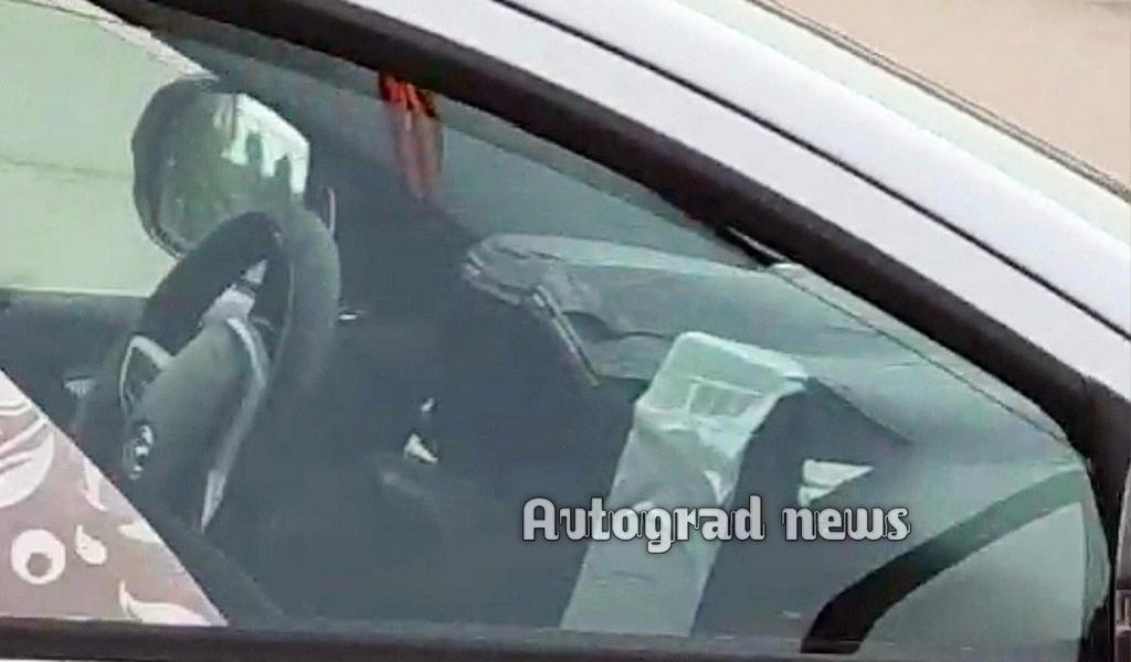 Новые фото салона обновленной Lada Vesta появились в сети