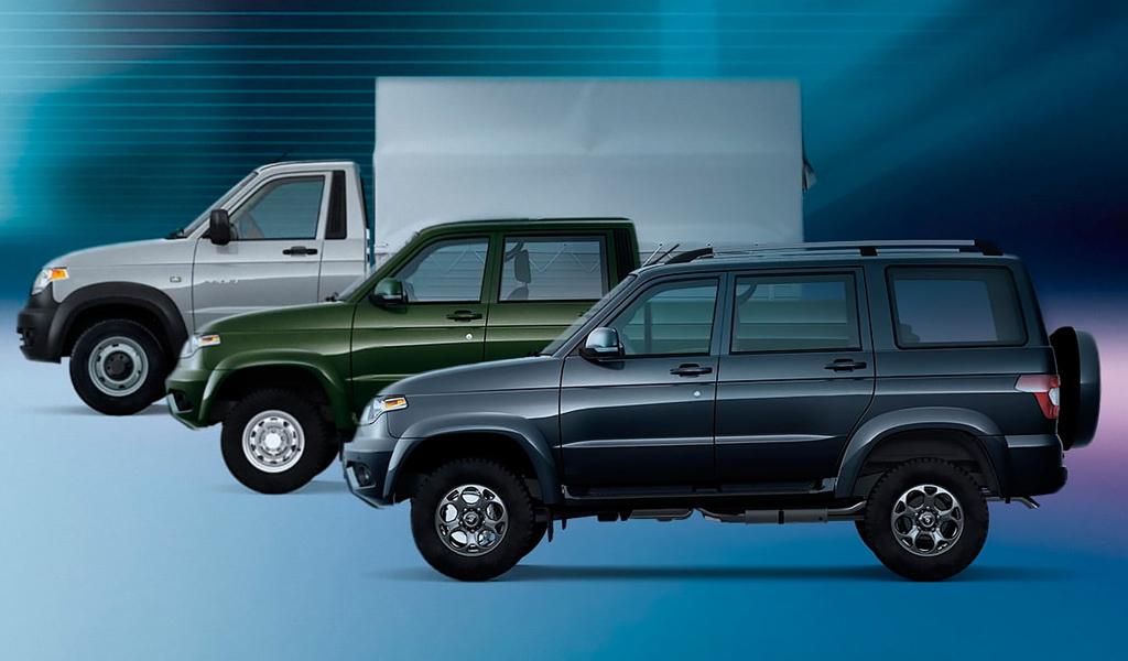 Автомобили УАЗ теперь можно взять в аренду по подписке