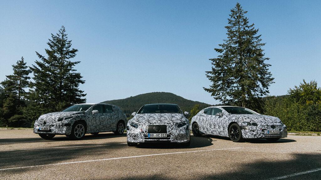 Третий автомобиль, на который делают ставку в немецкой компании – лифтбек EQS, он будет базироваться уже на другой платформе под названием MEA