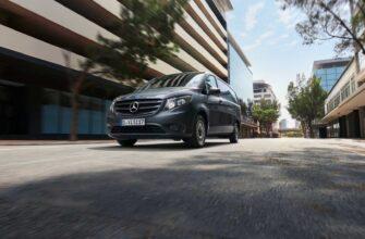 Mercedes-Benz модернизировал свои фургоны