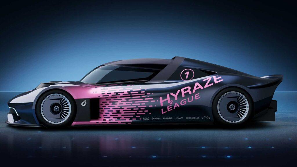 Состязания будут называться Лига HYRAZE, к участию будут допущено только электромобили на водородном топливе