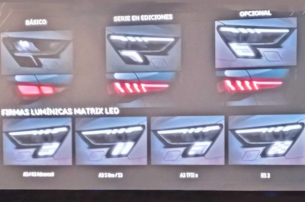 Мы уже видели подобные эксперименты на новом Audi Q5, в них водитель может самостоятельно определить вид светодиодного блока еще на стадии заказа модели у дилера