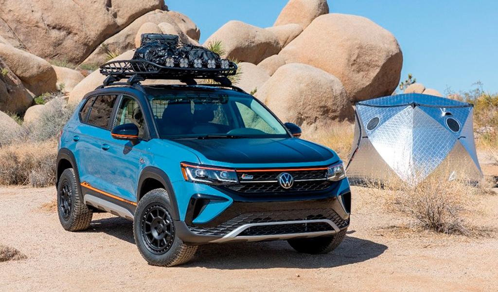 Volkswagen выпустил особую версию кроссовера Taos