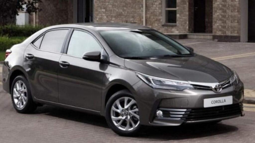 Защита предназначена для моделей Corolla и Prius
