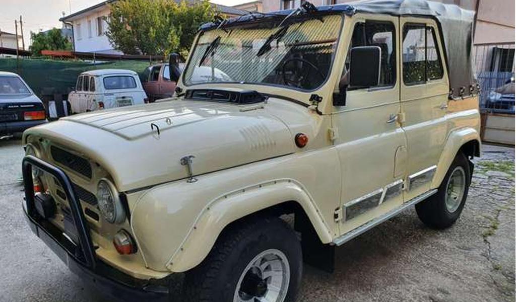 В Италии за 1,8 млн рублей продают УАЗ 1984 года