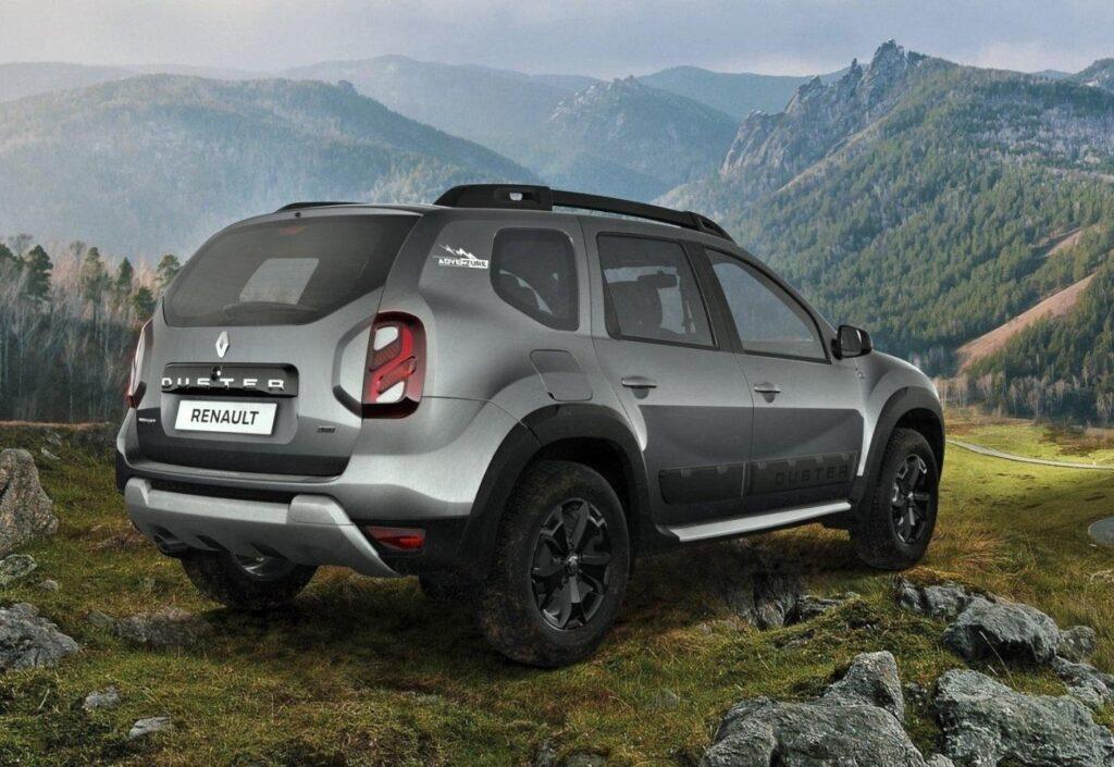 Renault Duster, вид сзади