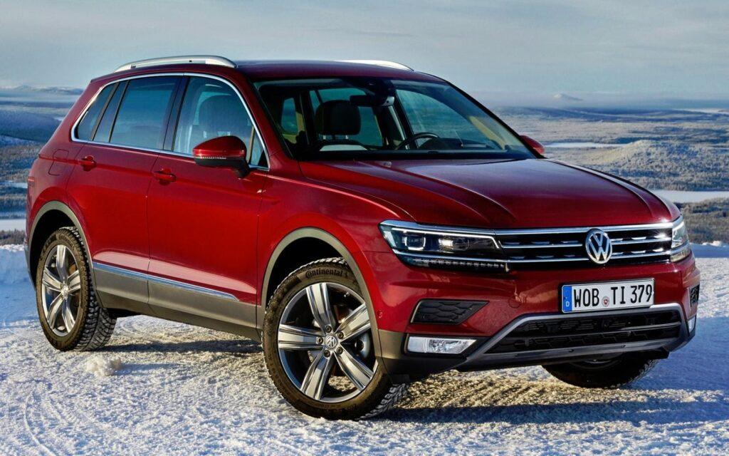 Volkswagen Tiguan, вид спереди