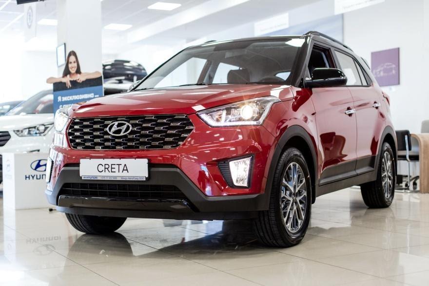 Hyundai Creta, вид спереди