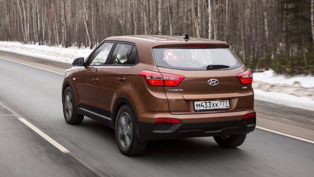 Hyundai Creta, вид сзади