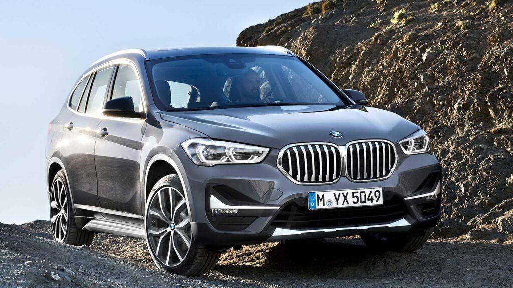 BMW X1, вид спереди